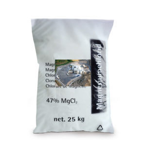 Déverglaçant - Chlorure de magnésium en sac de 25kg